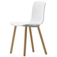Vitra HAL Wood tuoli, tammi - valkoinen
