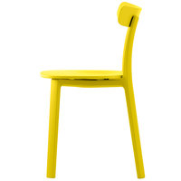 Vitra All Plastic Chair, keltainen