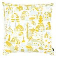 Kauniste Mökkilä tyynynpäällinen, keltainen