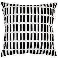 Artek Siena tyynynpäällinen 50x50cm, musta-valkoinen
