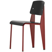 Vitra Standard SP tuoli, japanese red - musta