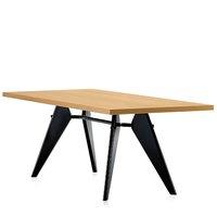 Vitra Em Table 240 x 90 cm, tammi - musta