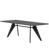Vitra Em Table 240 x 90 cm, asphalt - musta