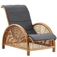 Sika-Design Paris nojatuoli, tummanharmaa istuintyyny