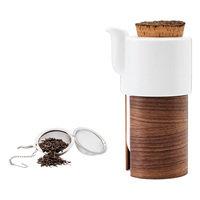 Tonfisk Design Warm teekannu 6 dl, pähkinäpuu