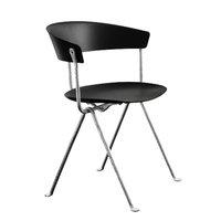 Magis Officina tuoli, galvanoitu, musta