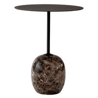 &Tradition Lato LN8 sohvapöytä, musta - Emperador marmori