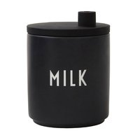 Design Letters Milk kannu, musta