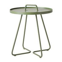Cane-line On-the-move pöytä, pieni, oliivinvihreä