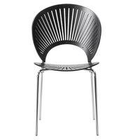 Fredericia Trinidad tuoli, musta saarni - kromi
