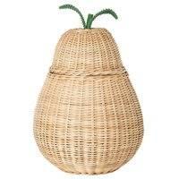 Ferm Living Pear punottu kori