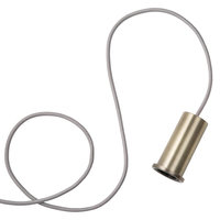 Ferm Living Socket Pendant Low riippuvalaisin, messinki