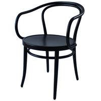 TON Armchair 30 tuoli, musta