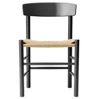 Fredericia J39 Mogensen tuoli, mustalakattu tammi