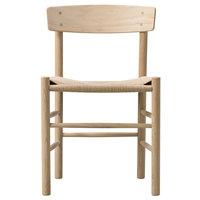 Fredericia J39 Mogensen tuoli, saippuoitu tammi