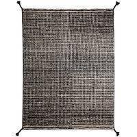 Woodnotes Grid matto, valkoinen - musta