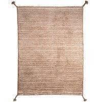 Woodnotes Grid matto, valkoinen - kameli