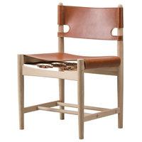 Fredericia The Spanish Dining Chair tuoli, konjakinruskea nahka