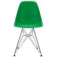 Vitra Eames DSR tuoli, green - kromi