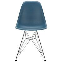 Vitra Eames DSR tuoli, sea blue - kromi