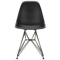 Vitra Eames DSR tuoli, deep black - basic dark