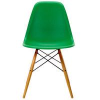Vitra Eames DSW tuoli, green - vaahtera