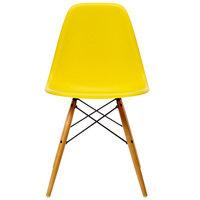 Vitra Eames DSW tuoli, sunlight - vaahtera
