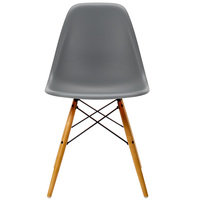 Vitra Eames DSW tuoli, granite grey - vaahtera