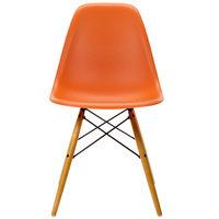 Vitra Eames DSW tuoli, rusty orange - vaahtera