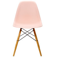 Vitra Eames DSW tuoli, pale rose - vaahtera
