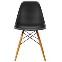 Vitra Eames DSW tuoli, deep black - vaahtera