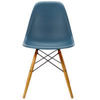Vitra Eames DSW tuoli, sea blue - vaahtera