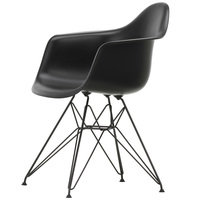 Vitra Eames DAR tuoli, deep black - basic dark