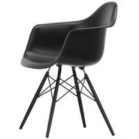 Vitra Eames DAW tuoli, deep black - musta vaahtera