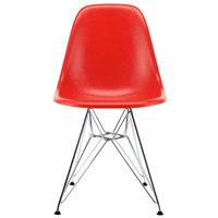 Vitra Eames DSR Fiberglass tuoli, classic red - kromi