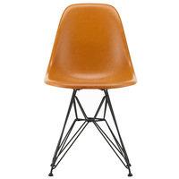 Vitra Eames DSR Fiberglass tuoli, dark ochre - basic dark