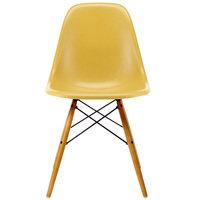 Vitra Eames DSW Fiberglass tuoli, light ochre - vaahtera