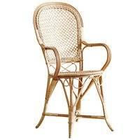Sika-Design Fleur tuoli käsinojilla