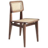 Gubi C-Chair tuoli, rottinki - öljytty pähkinäpuu