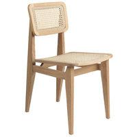 Gubi C-Chair tuoli, rottinki - öljytty tammi