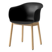 &Tradition Elefy JH30 tuoli, musta - tammi