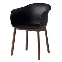 &Tradition Elefy JH30 tuoli, musta - pähkinä