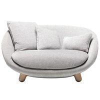 Moooi Love sohva, Liscio Nebbia
