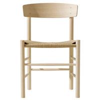 Fredericia J39 Mogensen tuoli, saippuoitu pyökki