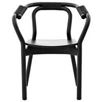 Normann Copenhagen Knot tuoli , musta