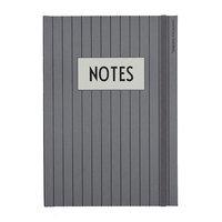 Design Letters Classic muistikirja, harmaa