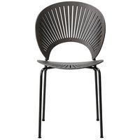 Fredericia Trinidad tuoli, harmaaksi petsattu ja lakattu tammi - flint