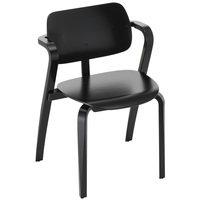Artek Aslak tuoli, musta
