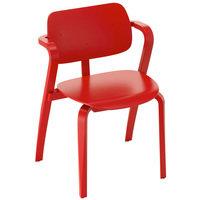 Artek Aslak tuoli, punainen