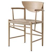 &Tradition Drawn HM4 tuoli, valkoöljytty tammi